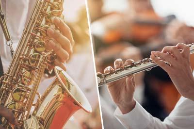 管楽器(サックス・フルート)
